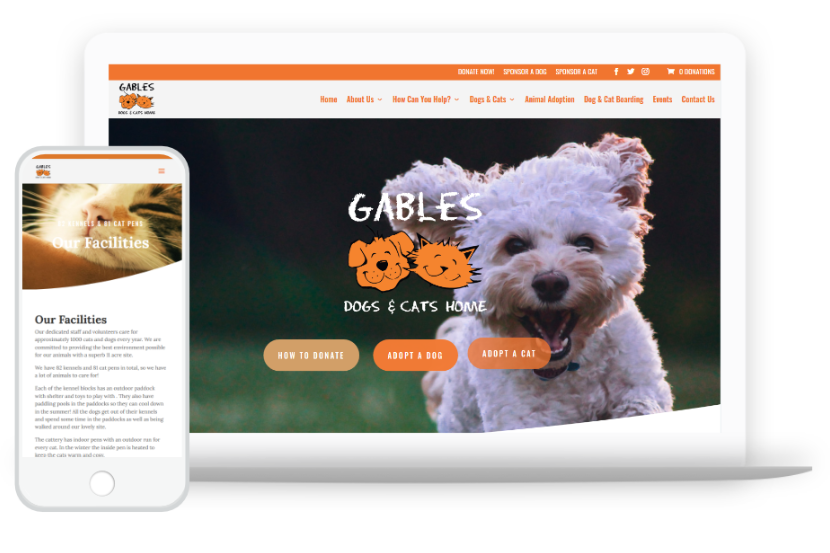 Dogs Home WordPress Theme