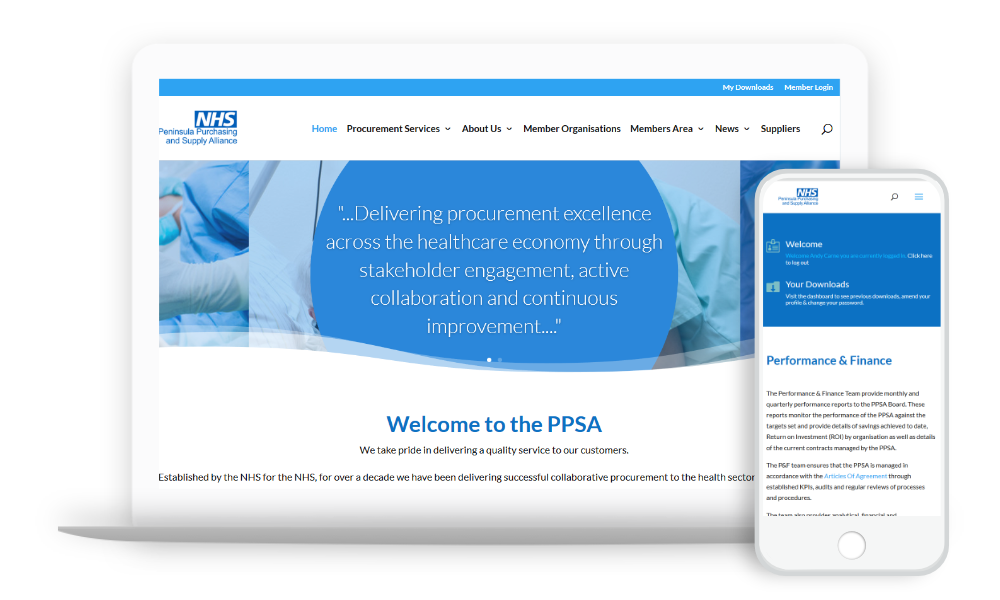 WordPress Theme NHS