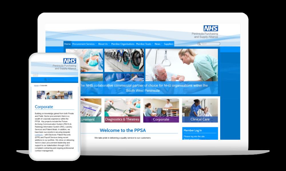 NHS Website Design